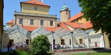View of the Podebrady Castle, whethe the International Seminars take place