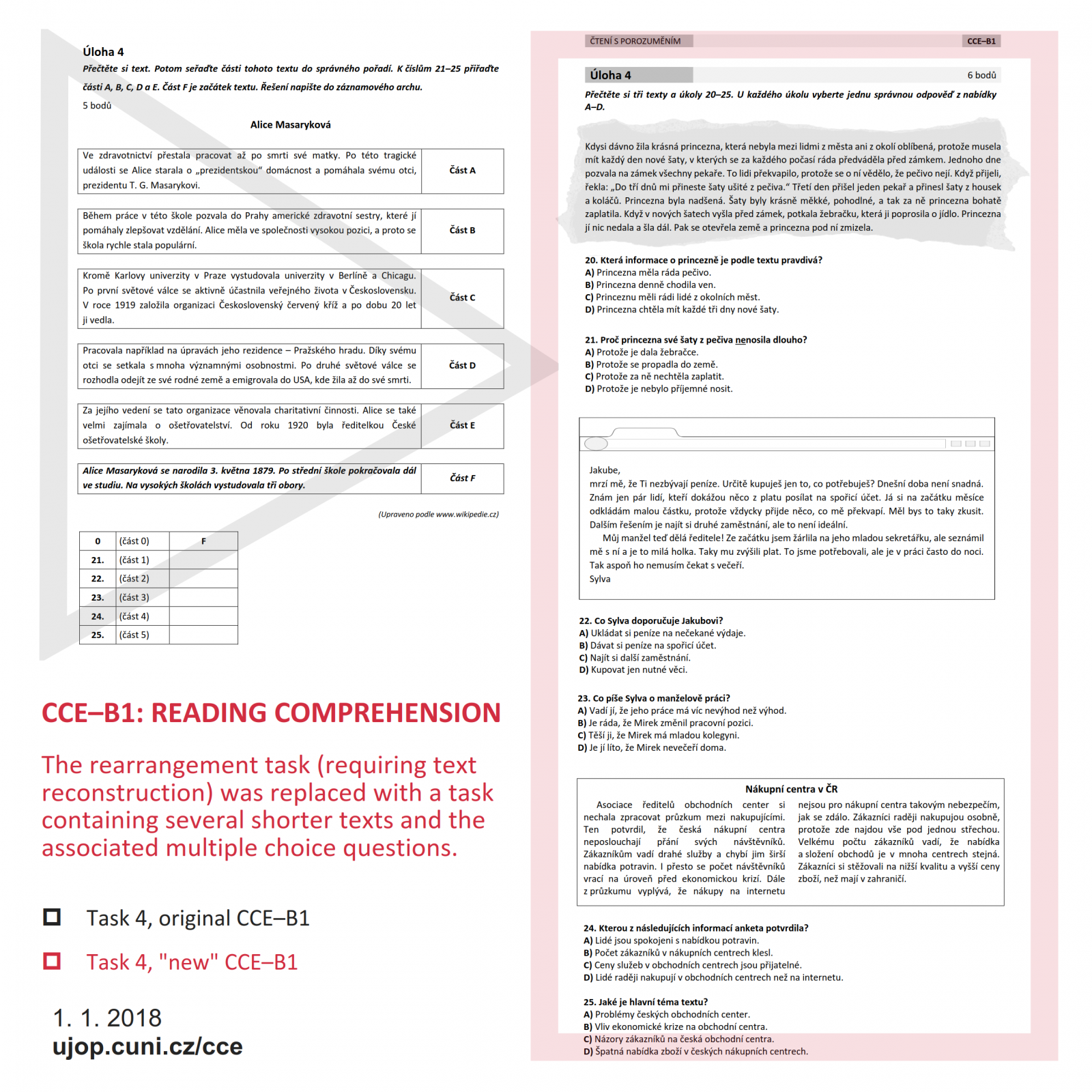 General Information about the New CCE Exam | ILPS CU